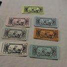 Vintage Waddington's Black Box Rat Race money, bank notes. 1973.