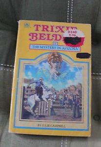 Trixie Belden Golden Paperback Book #6. The Mystery in Arizona.