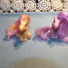 My Little Pony Fakies Lanard Babies. Pink orange. 1997