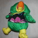 Vintage Fisher Price Puffalump green Wild Things Toucan.