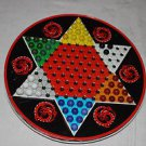 Ohio Art vintage Chinese Checkers game, marbles, no checker pawns.