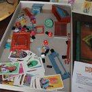 Vintage Milton Bradley 13 Dead End drive parts.