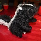 Ganz Webkinz Skunk HM213.No Code. W embroidered on foot.
