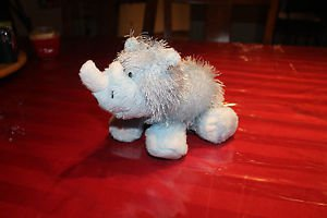 Ganz Webkinz Rhino HM196. Tags but no code. Embroidered W on foot.