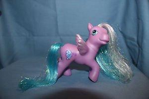 My Little Pony G3 Morning Monarch. Purple Pegasus butterfly cutie mark. Magnet