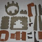 Playmobil Castle Assault Set 3123 parts. Walls, edging, trap door, floors, more