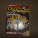 Crochet world magazine. Barbie patterns, Doilie, accents, blankets, Easter