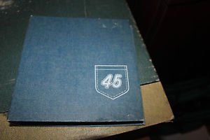 9 vintage 45 rpm Children's records with 45 rpm folder holds 12.