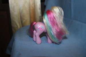 "My Little Pony G3 Pink  4.25"" Jazz Matazz trumpet cutie mark. Magnet in hoof '02"