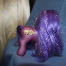 My Little Pony G3. 2002 Kimono Glitter pony. Magnet in hoof.