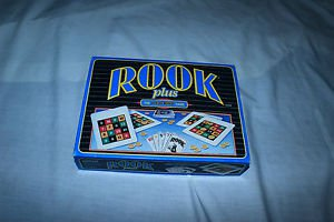 Rook Plus Card game by Parker Brothers 1994. Complete*.