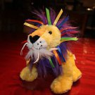 Ganz Webkinz Ribbon Lion HM 487.  With tags but no code. Embroidered W on foot.