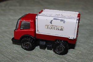 "Vintage Tonka 3 .5"" Truck opening doors. Made in Japan. VGUC."