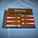 Vintage Deluxe Backgammon game Ben Sanders co. Magnetic travel.