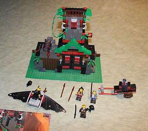 LEGO Ninja Robber's Retreat #6088. Complete, instructions. No box