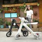 New design folding electric motorcycle 36V 250W e-bike