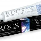 R.O.C.S Sensation Whitening Toothpaste 74gr . Whinteness and Shine your Teeth.