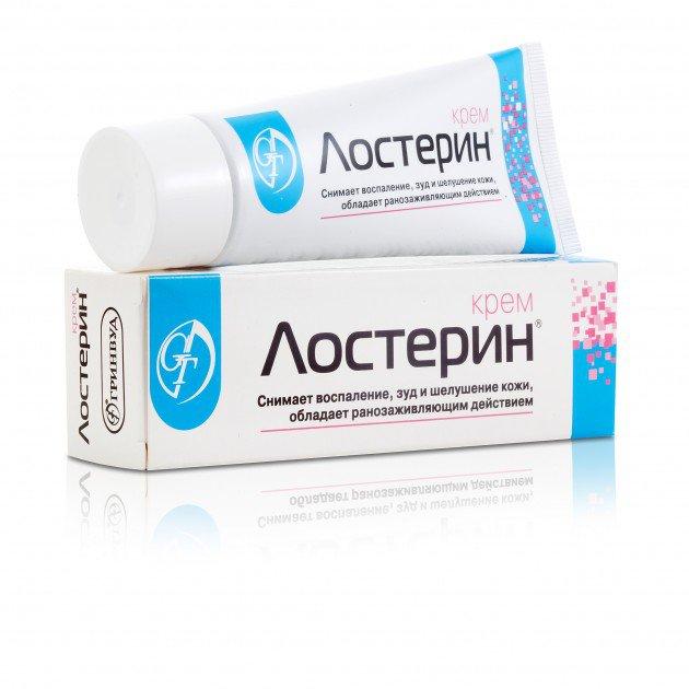 Losterin Naftalan Cream 75ml Anti-inflammatory, Reduces Skin Itching, Flaking