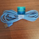 Micro USB Data Sync Charger Cable Lead (2m.Blue)