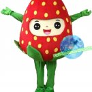 Free Shipping Strawberry Mascot costume Fruit Mascot costume for Halloween and party events
