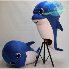 Free Shipping Costomise Blue Dolphin Animal Mascot Costume for promotion and party
