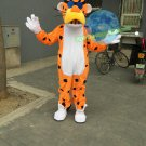 Free Shipping Chester Cheetah Yellow Panther Leopard Mascot Costume for Halloween and party