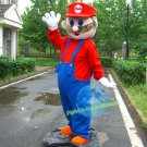 Free Shipping Super Mario Mascot Costume for Birthday Party and Events