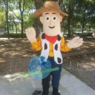 Free Shipping Toy Story Woody Cowboy Mascot Costume for Birthday Party Halloween and Events