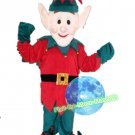 Free Shipping Christmas Elf Mascot Costume for Birthday Party Halloween and Events