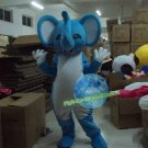 Free Shipping Blue Elephant mascot costume  for Birthday Party and Wedding Party