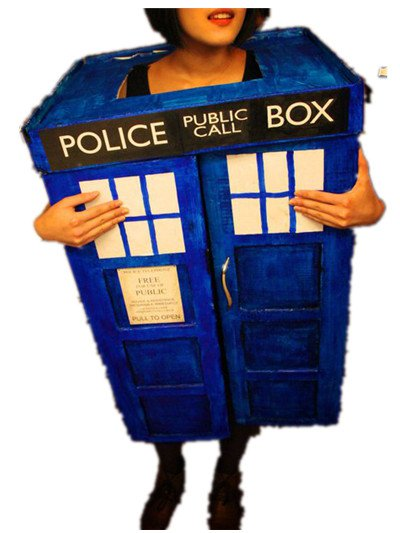 Free Shipping Tradis mascot costume Doc Who Police Box costume for Birthday Party and Wedding Party