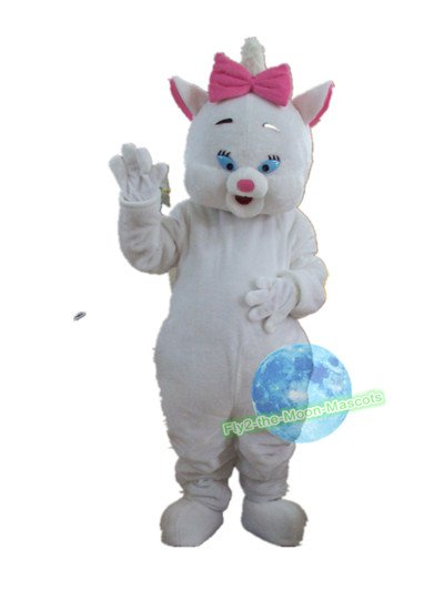 Free Shipping Marie The Cat mascot costume Halloween Christmas Event
