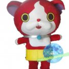 Free Shipping Jibanyan Yokai Watch mascot costume Halloween Christmas Event