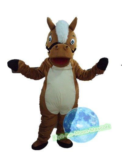 Free Shipping  horse Mustang Mascot mascot costume Halloween Christmas Event