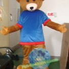 Free Shipping Teddy Bear Care Bear mascot costume Halloween Christmas Event