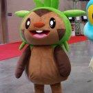 Free Shipping Pokemon Chespin mascot costume Halloween Christmas Event