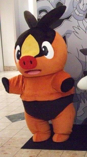 Free Shipping Tepig Pokemon mascot costume Halloween Christmas Event