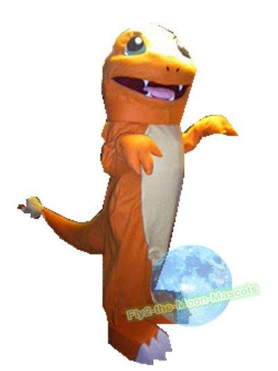 Free Shipping Charmander Little Dragon Pokemon mascot costume Halloween Christmas Event