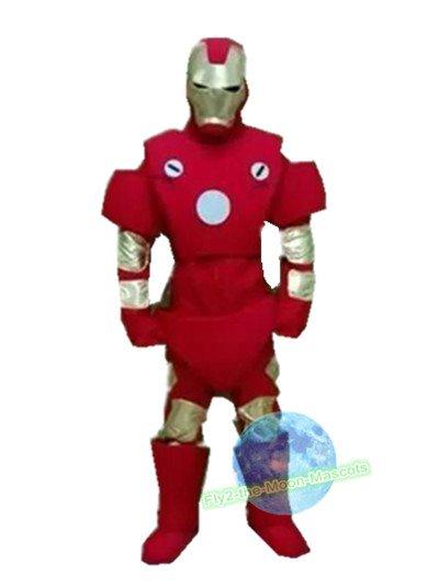 Free Shipping Iron Man mascot costume Halloween Christmas Event