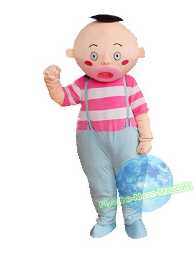 Free Shipping Lovely Infant Baby Mascot Costume for Halloween and party