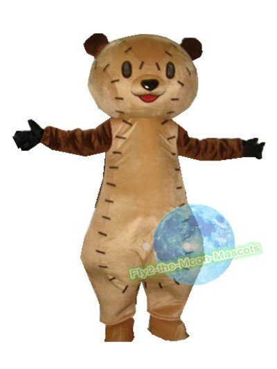 Free Shipping Brown Bear Nodame Cantabile Mascot Costume for Halloween and party