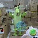 Free Shipping Green Crocodile Alligator mascot costume Halloween Christmas Event