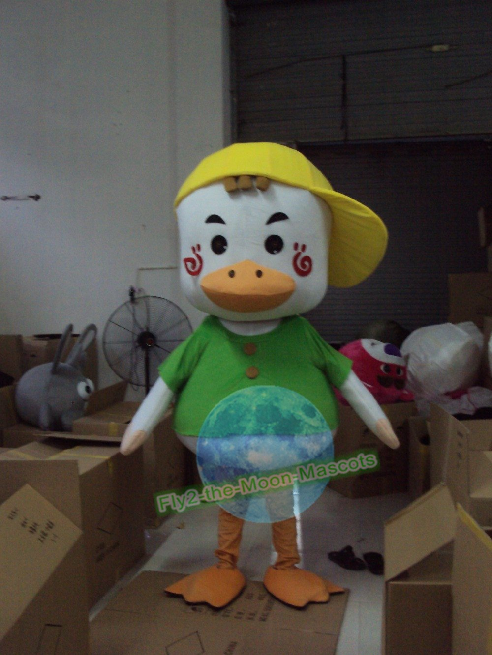 Free Shipping Sport Duck Mascot Costume for Wedding Birthday Party