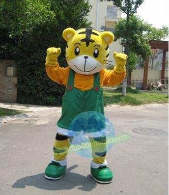 Free Shipping Lovely Tiger mascot costume for Adult Halloween Birthday party costume