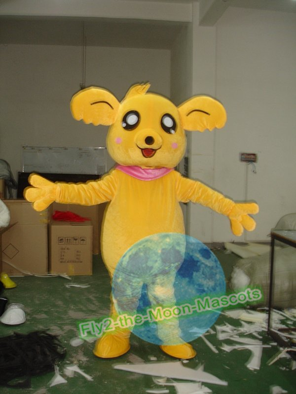 Free Shipping Kiki Bear Mascot Costume for Wedding Birthday Party