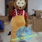 Free Shipping Teddy Baby Bear Mascot Costume for Wedding Birthday Party