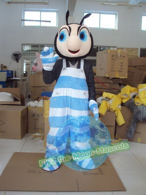Free Shipping Ant Mascot Costume for Wedding Birthday Party