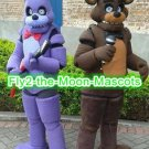 Free Shipping FNAF Five Nights at Freddy's mascot costume for Halloween Christmas