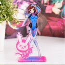Original - Overwatch D.Va Big Anime Acrylic Stand Figure Charm Decorative 16cm