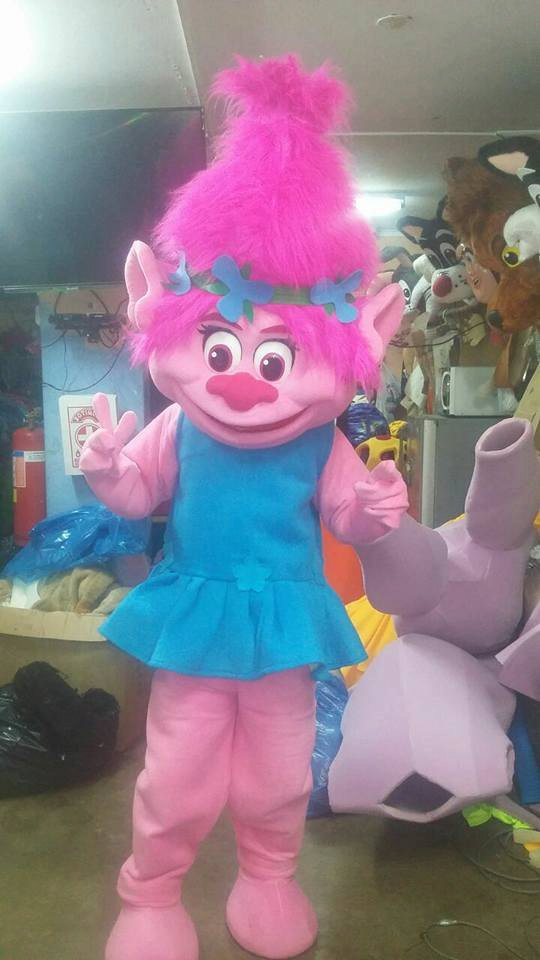 Free Shipping Trolls Mascot Costume For Birthday Party